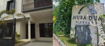 Dijual Rumah di Claster Nusa Dua Highland Bali One Gate System