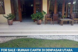 Rumah dijual di Denpasar Utara