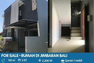 Jual Rumah di Jimbaran Bali Konsep Minimalis