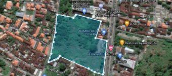 Jual Tanah di By Pass Ngurah Rai Kedonganan Sudah ada IMB Hotel 235 Unit Kamar