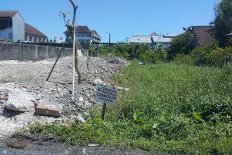 Dijual Tanah di Jalan Pura Merta Sari Sunset Road Hotel Harris