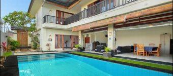 Dijual Rumah Villa di Pulau Moyo Pedungan Denpasar Selatan Bali