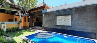Dijual Rumah di Sekuta Sanur Semi Villa Design Tropical Bali