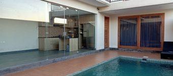 Dijual Rumah di Tukad Balian dengan Konsep Villa View Sawah