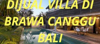 Dijual Villa di Brawa Canggu Bali Bangunan Kayu Ulin