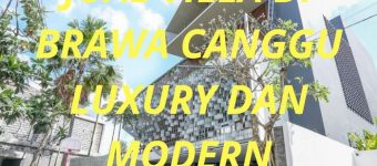 Jual Villa di Brawa Canggu Luxury dan Modern