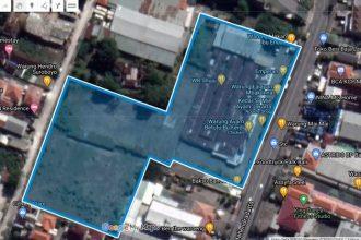 Dijual Tanah Komersial di Jalan Raya Mahendradata Dekat Teuku Umar Barat