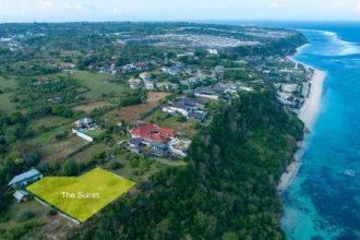 Dijual Tanah Pinggir Tebing Cliff Front Pandawa