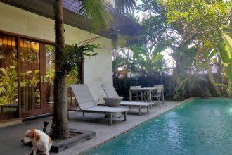 Dijual Villa View Laut dan Sawah di Cemagi Beach