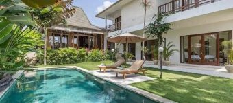 Dijual Villa di dekat Pantai Brawa Finn Beach