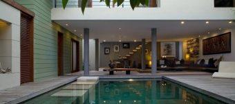 Dijual Villa di Central Seminyak kontemporer modern