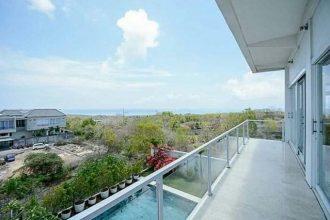 dijual villa view laut di jimbaran