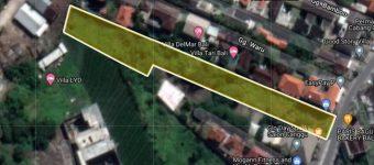 Jual tanah di Jalan Subak Sari Tibubeneng berawa