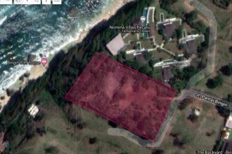 Dijual Tanah Pinggir Tebing Cliff Front di Pantai Bingin Pecatu Bali