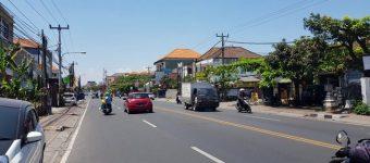Dijual Tanah di Jalan Buluh Indah Denpasar Lokasi Premium Untuk Perdagangan.