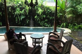Jual Villa di Sayan Ubud Design Joglo Bali