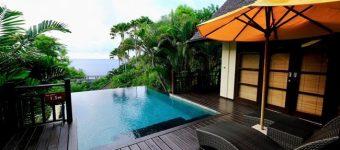 Dijual Villa di Karma Kandara akses ke Private Beach