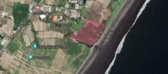 Dijual Tanah Pinggir Pantai di Sanur Padang Galak
