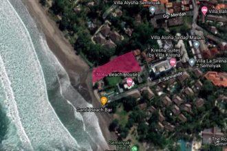 Dijual Tanah Pinggir Pantai di Seminyak (5)